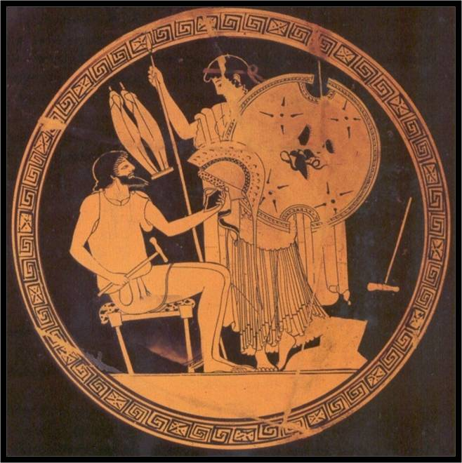 thetis and achilles in the iliad essay The last part of the essay will be devoted to the analysis  1 thetis thetis is a  recurrent character in the iliad she is achilles' mother and one of the nereides.