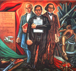 The handbook for educators who work with children of for Benito juarez mural