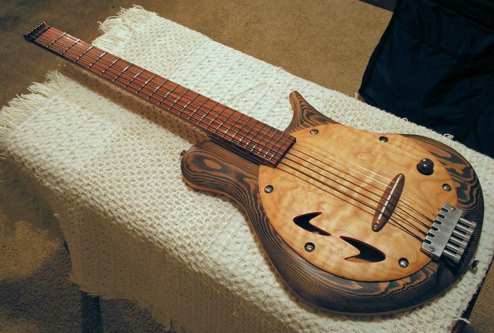 Headless Acoustic Guitar Bob's Headless Mini-fez Guitar