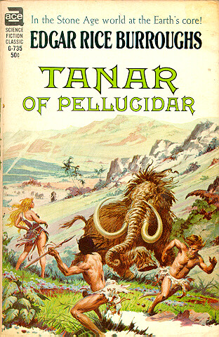Edgar Rice Burroughs Back To The Stone Age border=