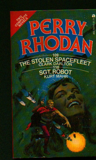 Ace Image Library Ace Perry Rhodan Double Singles Cover Art And