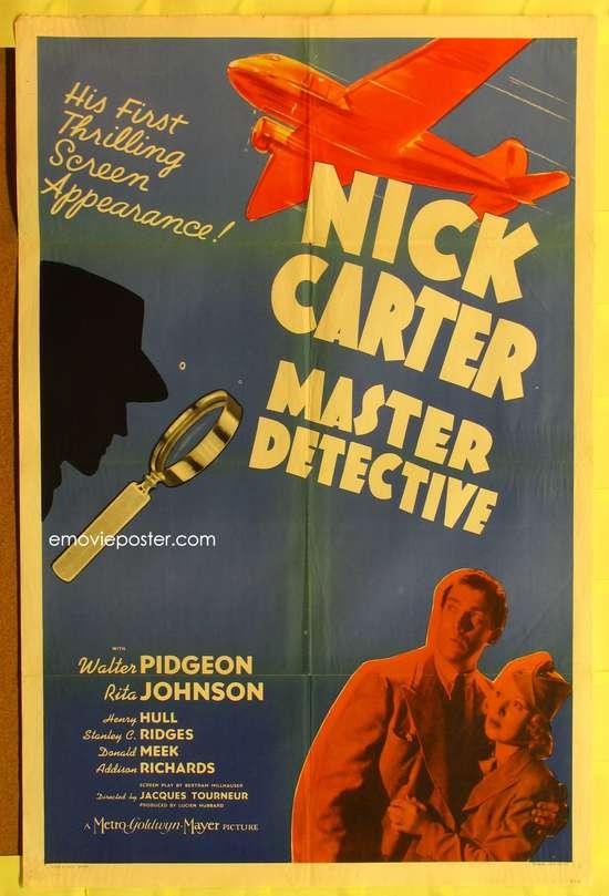 Nick Carter, Master Detective movie